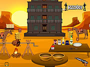 Play Cowboy grilled chicken Game