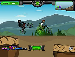 Ben 10 BMX oyunu