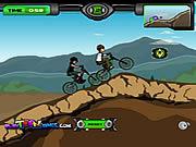 Juega al juego gratis Ben 10 BMX