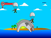 Chơi trò chơi miễn phí Shark Rampage