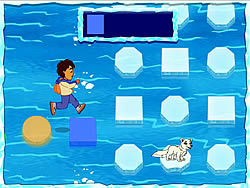 Diego's Arctic Rescue game