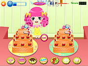 Play Cake deco contest Game