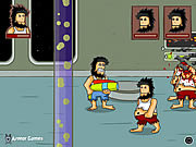 Play Hobo 5 space brawl Game