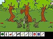 juego Obama Jurassic Park