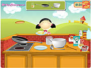 Play Emmas recipes sweet pancakes Game