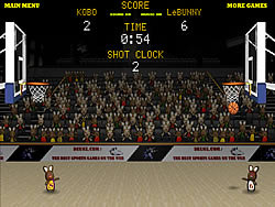 Bunny B-Ball game