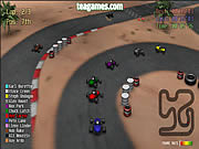 Red Kart Racer game