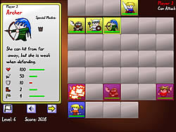 Small Warrior Battles game