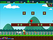 Play Ben 10 in mario world Game