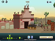 Zombie Tank Battle game
