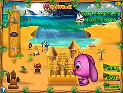 Juega al juego gratis Toto's Sand Castle