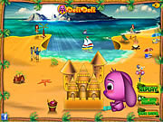 Play Toto s sand castle Game