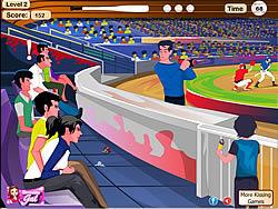 Lovers At A Baseball game