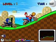 Play Mario vs sonic racing Game