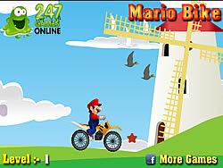 Mario Bike game