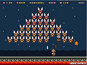 Play Super mario invader Game