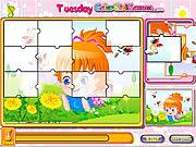 Amy's Happy Life Puzzle game