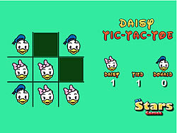 Daisy Tic Tac Toe game