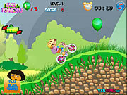 Play Dora s bike ride Game