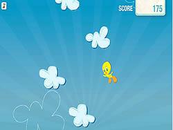 Tweety's Cloud Jumper game