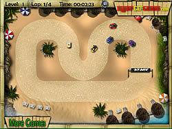 Tropical Karting game
