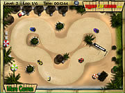 Tropical Karting game