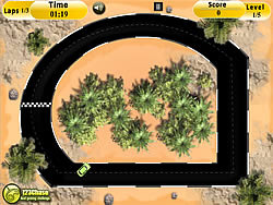 Tiny Racer game