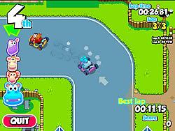 Zoo Racer game