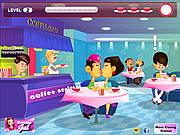 Play Coffee shop kissing Game