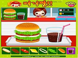 Gioca gratuitamente a Burger Zang
