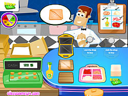 Sandwich Sweep game