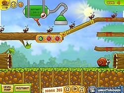 Jogar jogo grátis Snail Bob 2