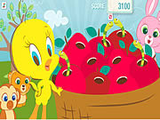 Play Tweety s pluck a worm Game