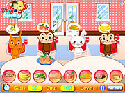 Play Pet food restaurant Game