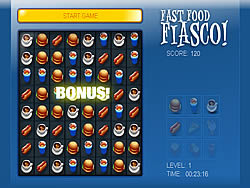 Permainan Fast Food Fiasco