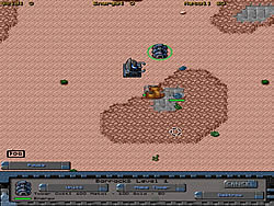 Lunar Commander game