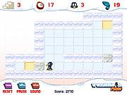 Jogar jogo grátis Penguin Push