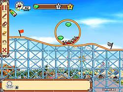 玩免费游戏 Rollercoaster Creator 2