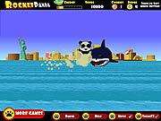 Juega al juego gratis Rocket Panda