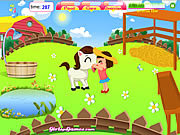 Play Cute pony daycare Game