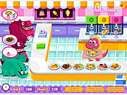 Play Dino restaurant Game
