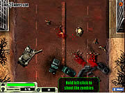 Play American tank zombie invasion Game