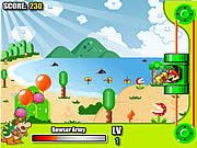 Play Mario bloons shooting Game