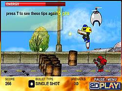 Играть бесплатно в игру Robo Slug