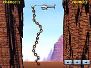 Play Reach the copter Game