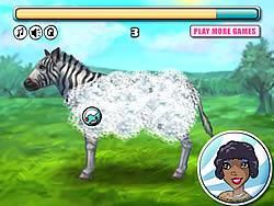 Inimitable Zebra game