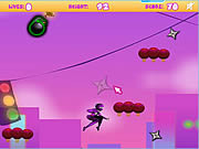 Play Midnight ninja leaping Game