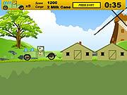 Play Ben milk transporter Game
