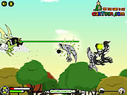 Play Ben 10 sky battle Game