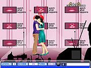 Play Stage kiss Game